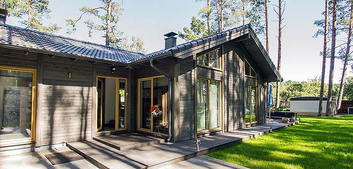 садовый домик под ключ недорого