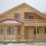 Чем хорош каркасный дачный дом?