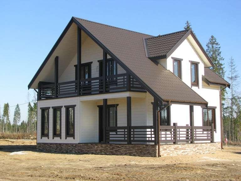 Каркасное дачное и загородное строительство