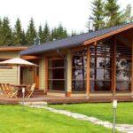 Виды и цена каркасных пристроек к деревянному дому
