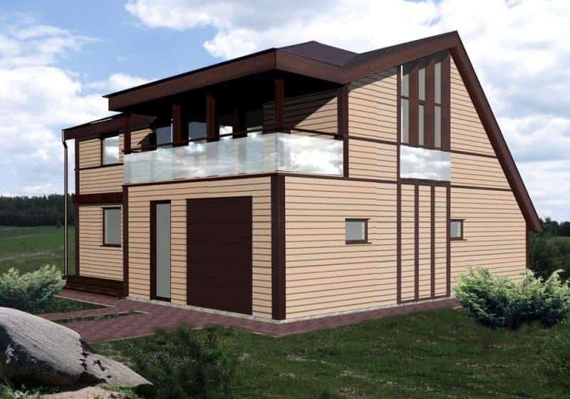 реконструкция каркасного дома