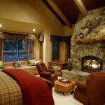 Пожарная безопасность комнаты с камином