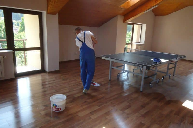 клининг дачного дома от компании Дачный мастер