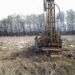 Геологическое обследование участка для выбора типа фундамента