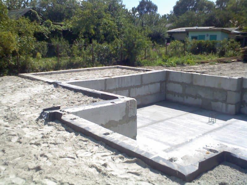 Ленточные фундаменты: достоинства, недостатки, технология строительства