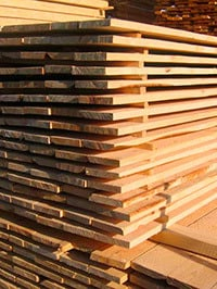 How to store lumber