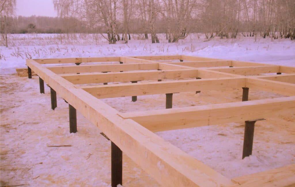 Как определить тип нужного фундамента под каркасный дом?