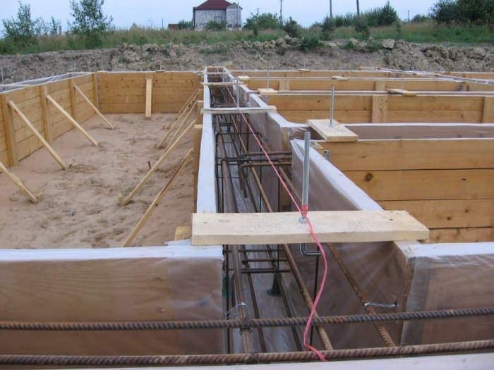 How to determine the type of Foundation under frame house?