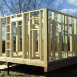 Деревянный силовой каркас: достоинства, недостатки, технология строительства
