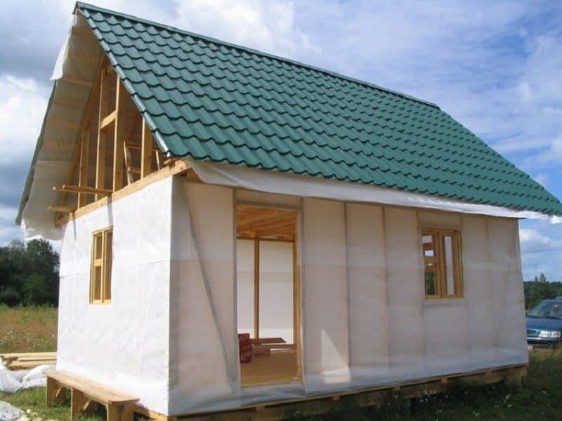 Ветровлагозащита и пароизоляция каркасного дома