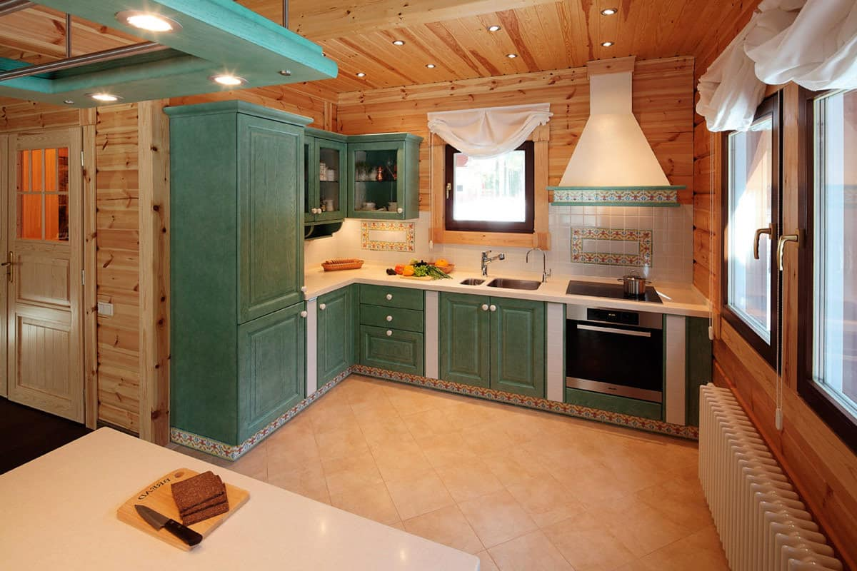 Kitchen for country house