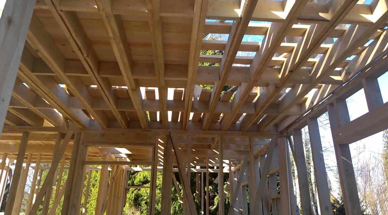 Как правильно сделать перекрытие каркасного дома?