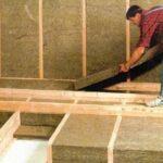 Утепление каркасного дома с использованием плит или матов