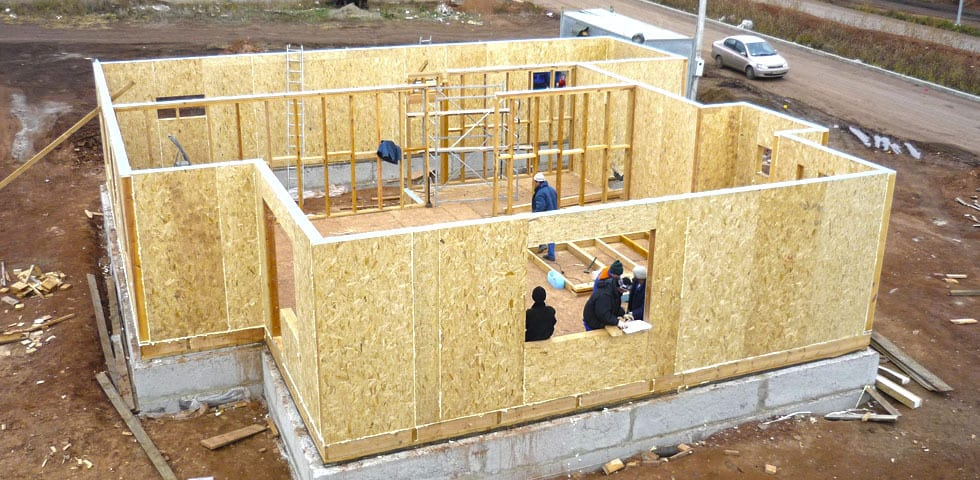 Дачные дома из СИП-панелей