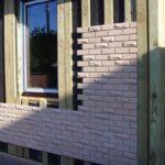Отделка фасада фасадными панелями. Особенности и технология.