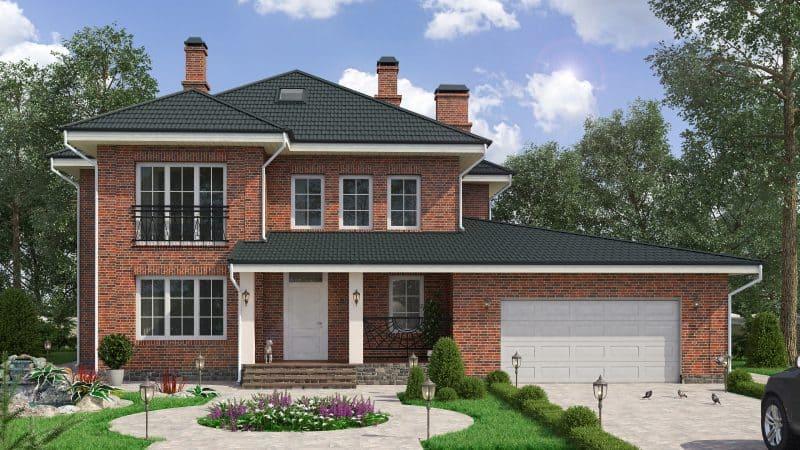 Основные преимущества кирпичных загородных домов