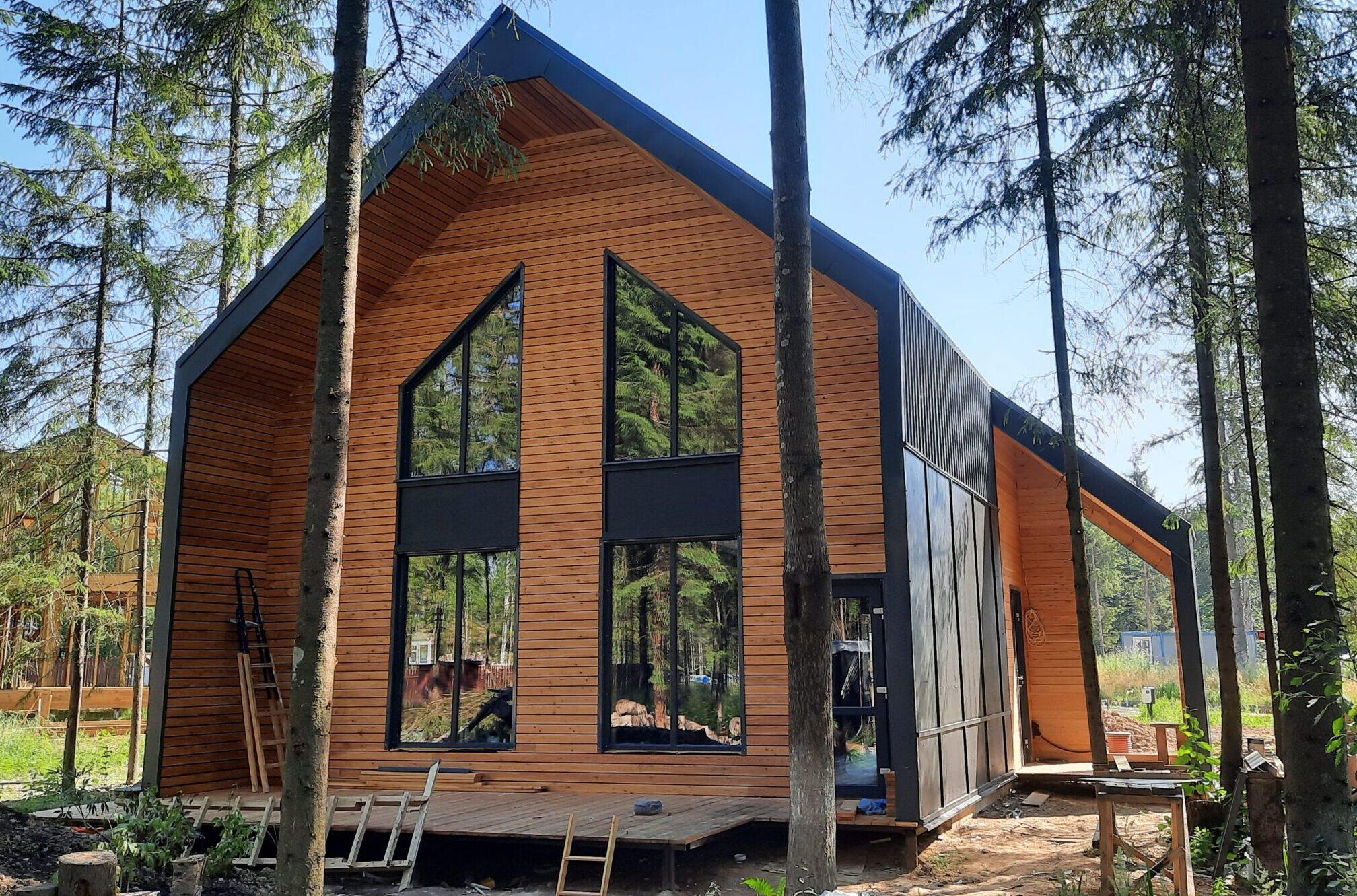 Строительство и отделка каркасного дома