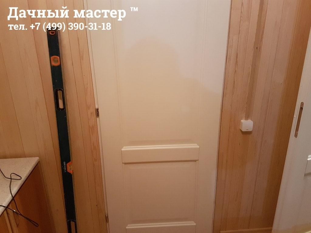 Монтаж межкомантных дверей