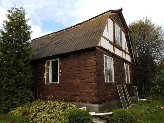 Дачный дом до реконструкции