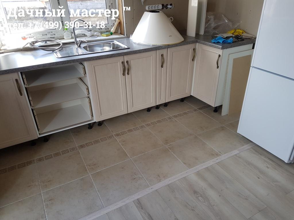 Монтаж кухонного гарнитура