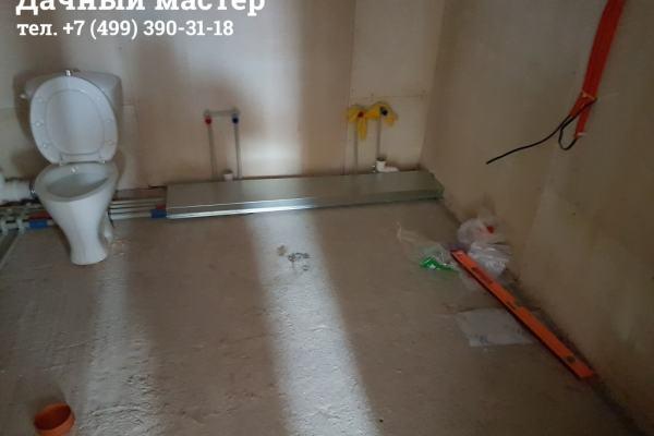 Монтаж коробов для компенсации тепловых расширений труб отопления