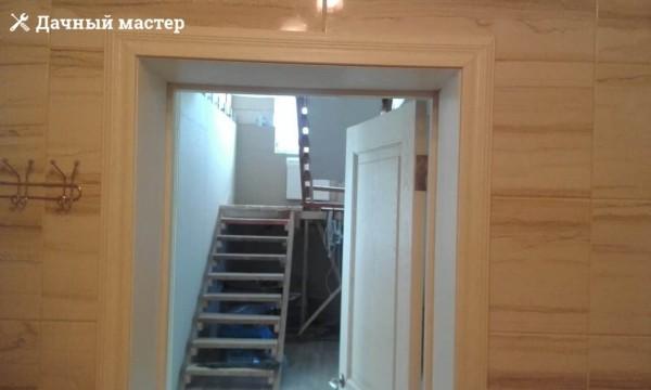 Обустройство дверных откосов и наличников