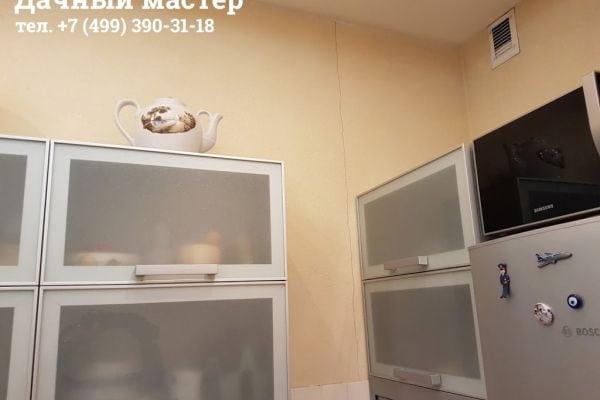 Трещина в стене кухни ДО ремонта
