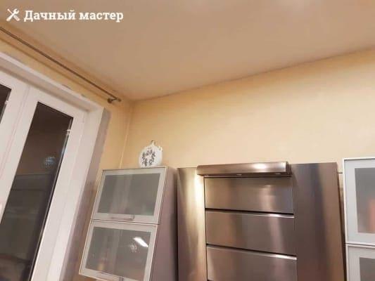 Потолок кухни ДО ремонта
