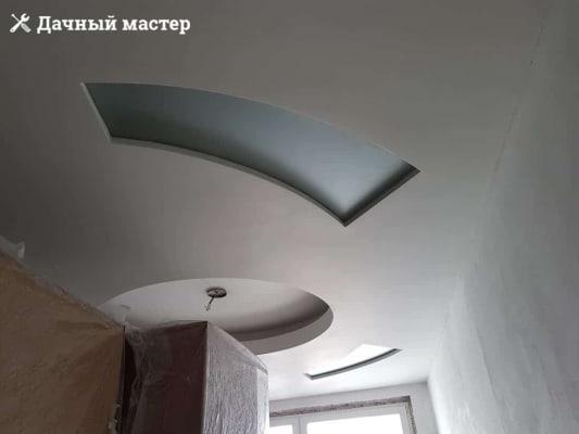 Шпаклевка стен и потолка в маленькой комнате
