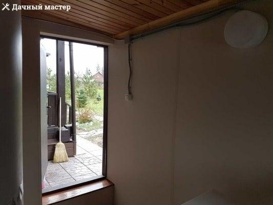 Стены котельной после отделки негорючими панелями