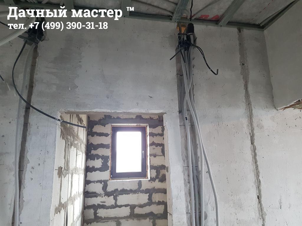 Электропроводка (делали не мы)