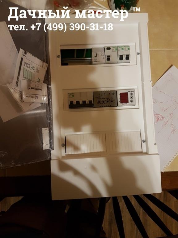 Сборка электрощитка с автоматикой