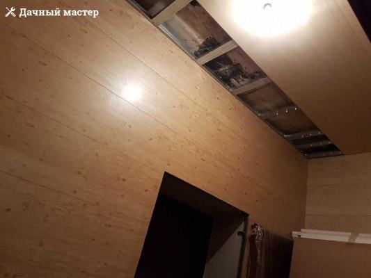 Монтаж МДФ панелей на стены и потолок
