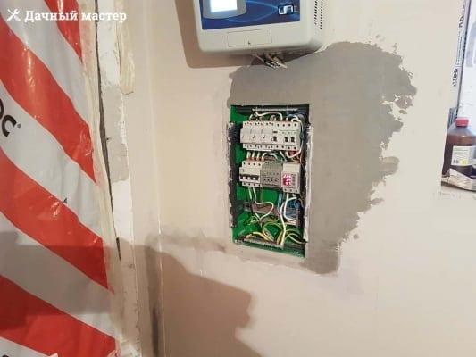Смонтированный электрощиток