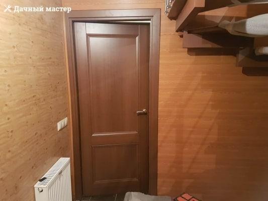 Смонтированная межкомнатная дверь